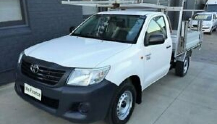 2014 Toyota Hilux TGN16R MY14 Workmate
